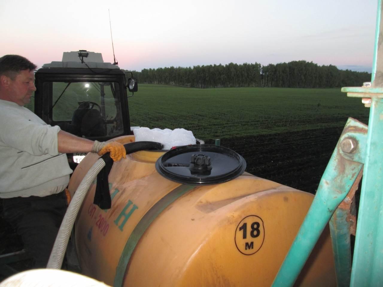 Процесс обработки поля Кукуруза препаратами ООО ТД Кирово-Чепецкая Химическая Компания