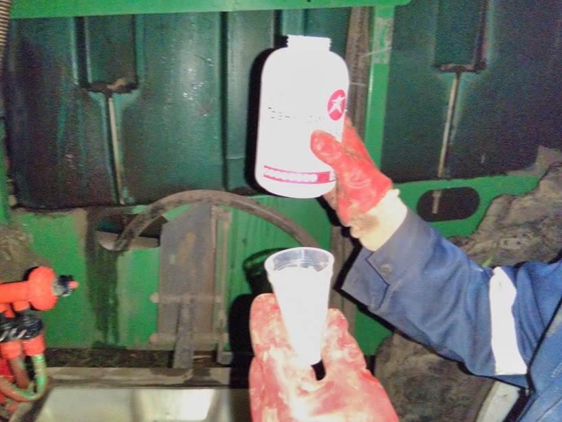 Процесс обработки поля Ячмень яровой препаратами ООО ТД Кирово-Чепецкая Химическая Компания