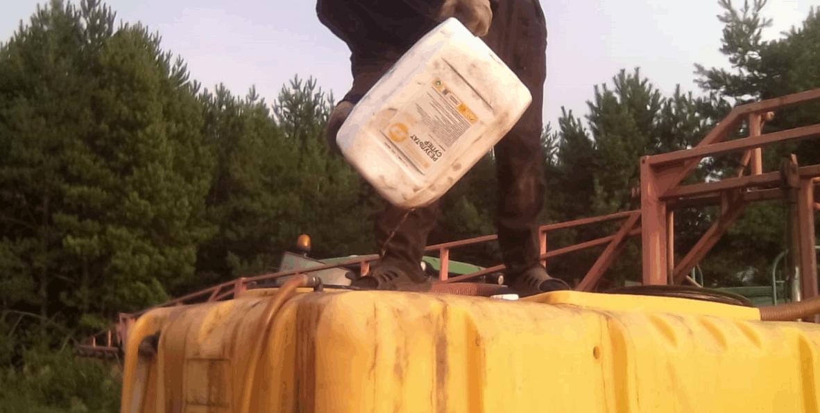 Процесс обработки поля Картофель препаратами ООО ТД Кирово-Чепецкая Химическая Компания