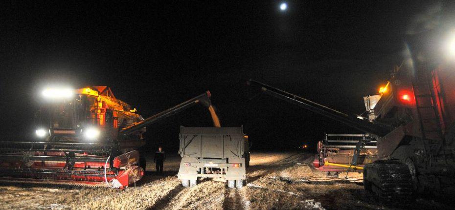 Снегопад заставил амурских аграриев перейти на ночную уборку сои - ООО ТД Кирово-Чепецкая Химическая Компания