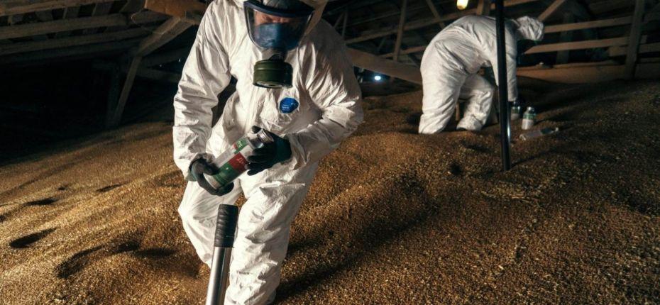 А как Вы подготовили зернохранилище? - ООО ТД Кирово-Чепецкая Химическая Компания