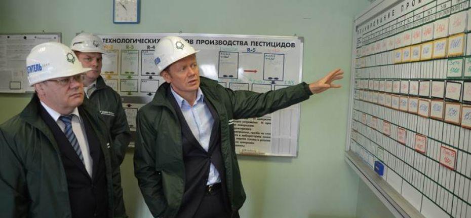 Гости завода - ООО ТД Кирово-Чепецкая Химическая Компания