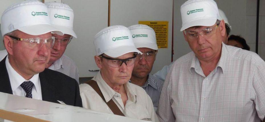 Дружеский визит делегации из Республики Мордовия - ООО ТД Кирово-Чепецкая Химическая Компания