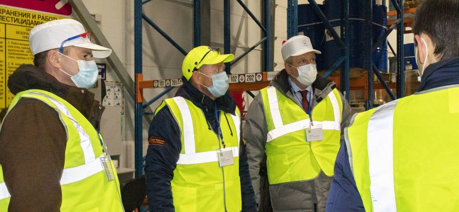 25 ноября губернатор Игорь Васильев прибыл в Кирово-Чепецк с рабочим визитом - ООО ТД Кирово-Чепецкая Химическая Компания