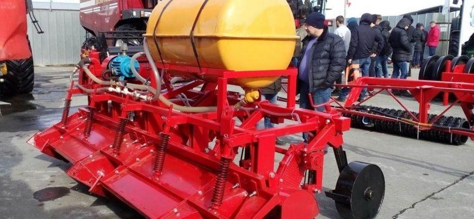 Уникальная установка для внесения удобрения в почву - ООО ТД Кирово-Чепецкая Химическая Компания