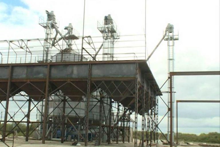 Строительство зерноочистительно-сушильного комплекса в Амурской области.