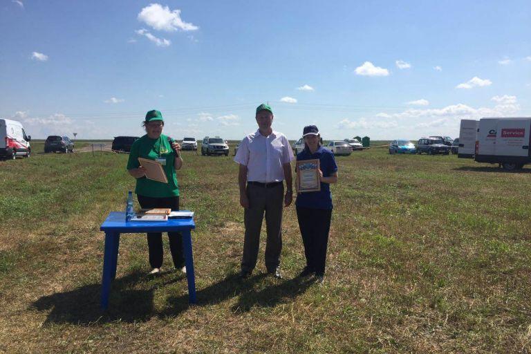 Демонстрационный показ опытов по применению средств защиты растений в Амурской области.
