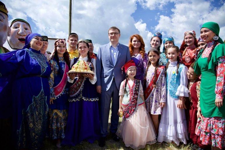 Сабантуй в Челябинской области проходил на территории Троицкого района