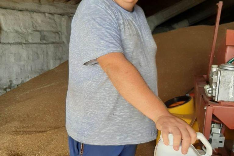 Протравка семян озимой пшеницы СПК Нива в Пензенской области