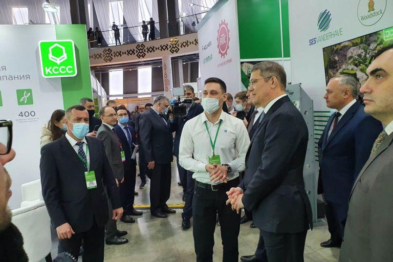 ВДНХ выставка Агрокомплекс 2021 в Уфе