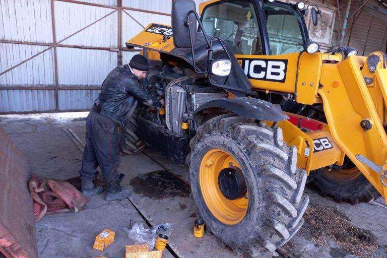 Подготовка техники к весенне-полевым работам Белгородских аграриев