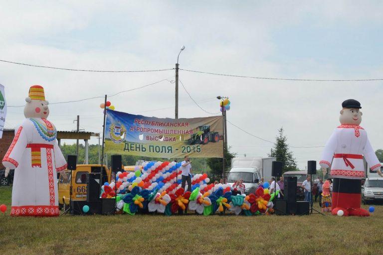 День поля в Республике Мордовия